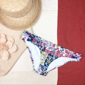 NEW Anthropologie Ruched Bikini Bottom